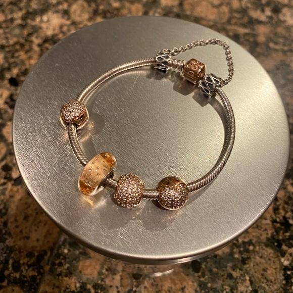 pandora bracelet rose collection
